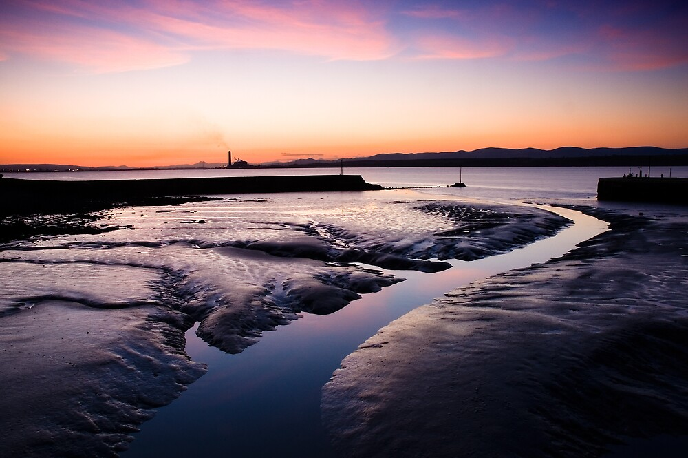 Bo'ness Harbour by David Queenan