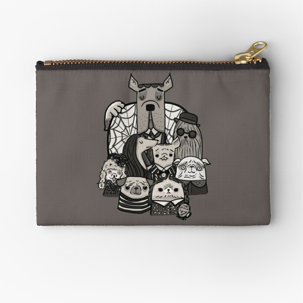 The Addams Family Zipper Pouch