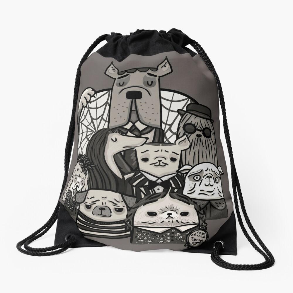 The Addams Family Drawstring Bag