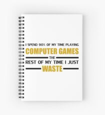 Cuaderno de espiral Computer Gaming