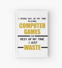 Computer Gaming Hardcover Journal