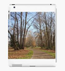 Trail to Autzen Stadium iPad Case/Skin