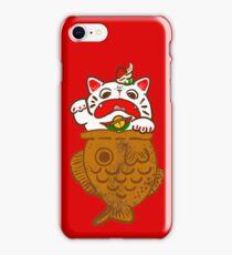 Taiyaki Neko iPhone Case/Skin