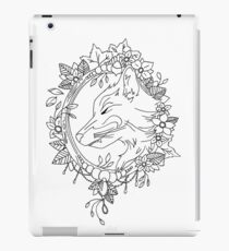 Fine liner Fox iPad Case/Skin
