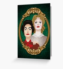 The Hudson sisters Greeting Card