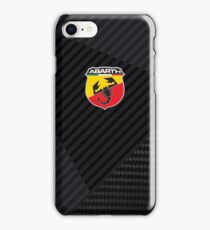 Abarth carbon competizione iPhone Case/Skin