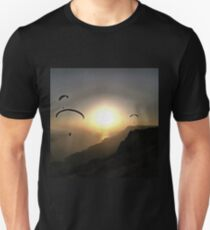 Paragliders Flying Without Wings Unisex T-Shirt