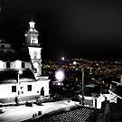 Turi and Cuenca, Ecuador - Selective Coloring by Al Bourassa