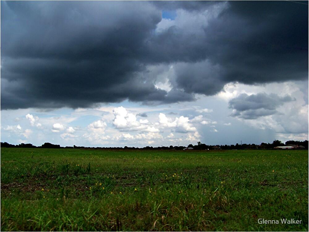 Storm's a-brewing! by Glenna Walker