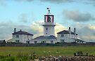 Caldey Island Lighthouse by trish725