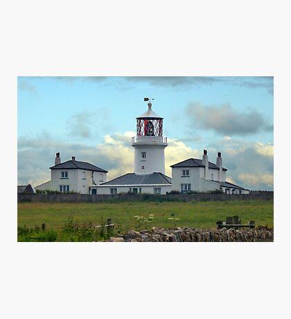 Caldey Island Lighthouse Photographic Print