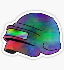 PUBG acid helmet Sticker