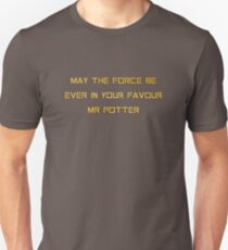 May the force be ever in your favour Mr. Potter T-Shirt