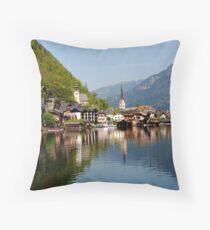 HALLSTATT - AUSTRIA Throw Pillow