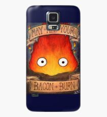 Studio Ghilbi Illustration: CALCIFER #3 Case/Skin for Samsung Galaxy