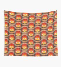 Studio Ghilbi Illustration: CALCIFER #3 Wall Tapestry