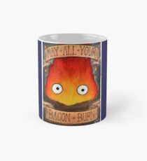Howl's Moving Castle Illustration - CALCIFER (original)  Mug