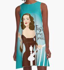 Fasten your seatbelts A-Line Dress