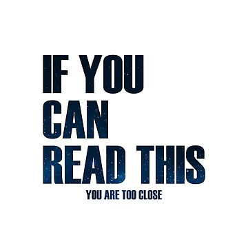 IF YOU CAN READ THIS by KevinScauri