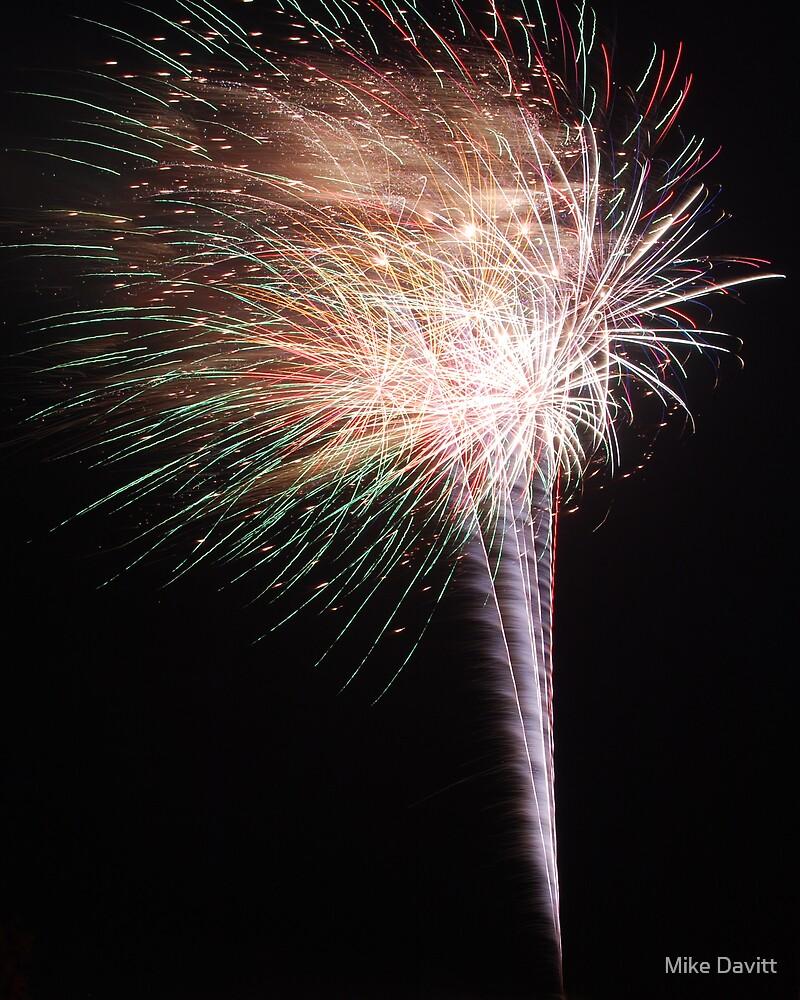 A Firework Snowcone  by Mike Davitt