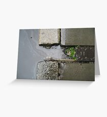 Leith Port in minature Greeting Card