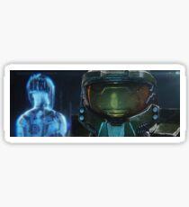 Master Chief and Cortana-Halo  Sticker
