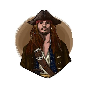 Jack Sparrow by jhaijhai