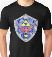 Zelda - Link Shield Doodle Camiseta ajustada