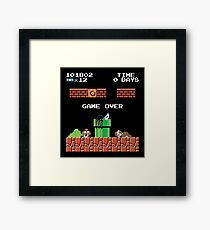 Super Samara Bros. Framed Print