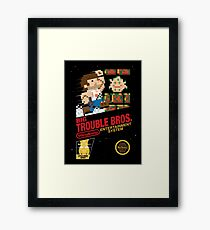 Big Trouble Bros. Framed Print