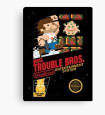 Big Trouble Bros. Canvas Print