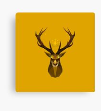 The crowned stag of House Baratheon Canvas Print