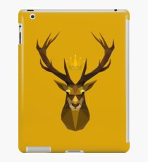 The crowned stag of House Baratheon iPad Case/Skin
