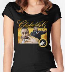Chabuddy G Kurupt FM Women's Fitted Scoop T-Shirt