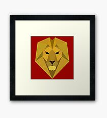 The Golden Lion of House Lannister Framed Print
