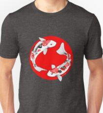 Japanese koi T-shirt unisexe
