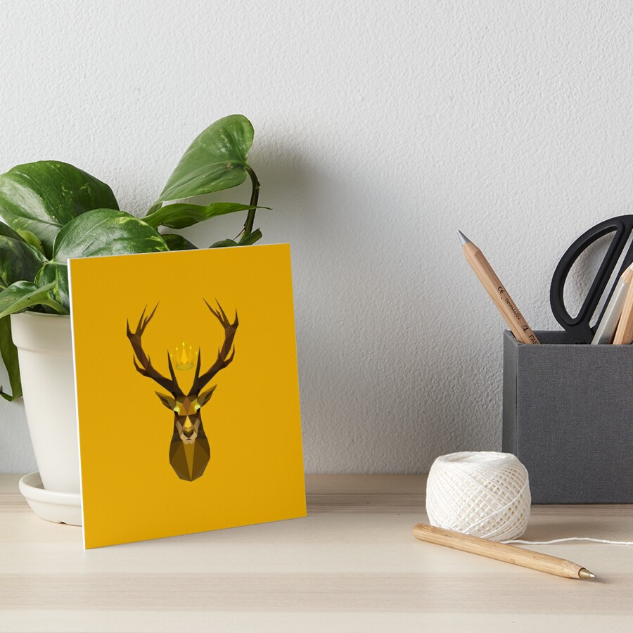 The crowned stag of House Baratheon\