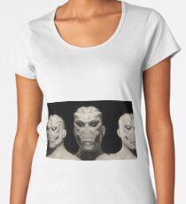 Alien portrait Women's Premium T-Shirt