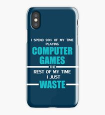 Computer Gaming iPhone Case