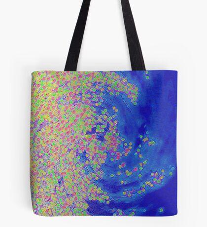 Color Wave Tote Bag