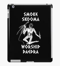Skyrim - Smoke Skooma Worship Daedra iPad Case/Skin
