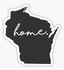 Wisconsin Home Sticker