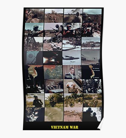 Snippets of the Vietnam War Poster