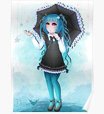 Shizuko - Gothic Lolita - Parasol - 2017 Poster