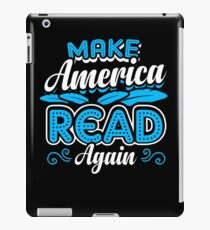 Make America Read Again Parody iPad Case/Skin