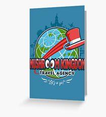 Mushroom Kingdom Travel Agency Greeting Card