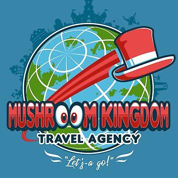 Mushroom Kingdom Travel Agency by knightsofloam