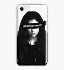 Orphan Black - Sarah iPhone Case/Skin