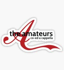 Amateurs Sticker Sticker