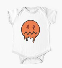 The Ghost Money Black&Orange Kids Clothes